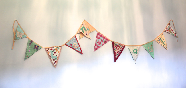 Diy Bunting Kits Perfect For A Hen Party Or Baby Shower