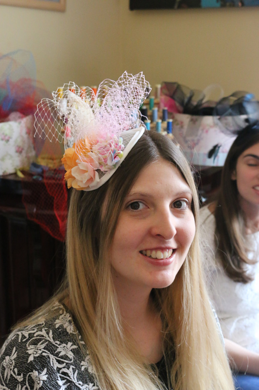 Hen Party Fascinator Making In Edinburgh S New Town Made